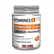 Energie et Musculation - Augmenter sa force - Vitamines B MAX (90 comprimés)