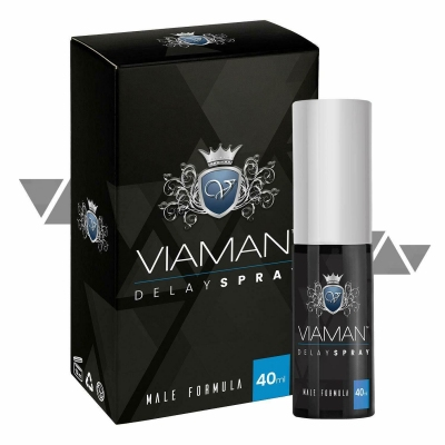 Gels retardants - VIAMAN Delay Spray retardant (40ml)