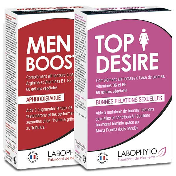 Stimulants sexuels - Pack Booster de libido en couple
