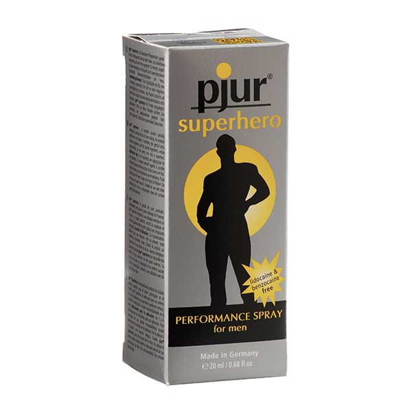 Gels retardants - Pjur SuperHero Spray (20 ml