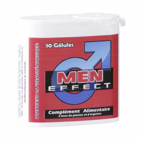Stimulants sexuels - Men Effect 10 Gélules