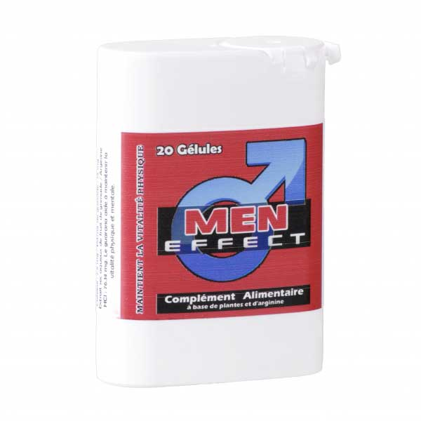 Stimulants sexuels - Men Effect 20 Gélules