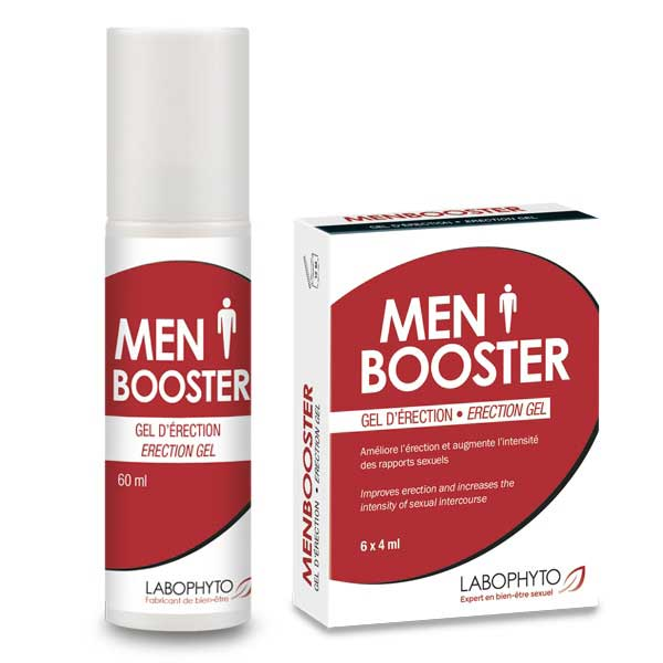 Crèmes d'érection - Pack d'Erection MenBooster  (Flacon+ Dosettes)