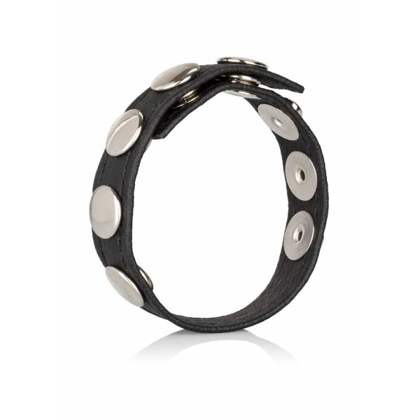 Cockring - Cockring  multi snap ring cuir 5 pressions