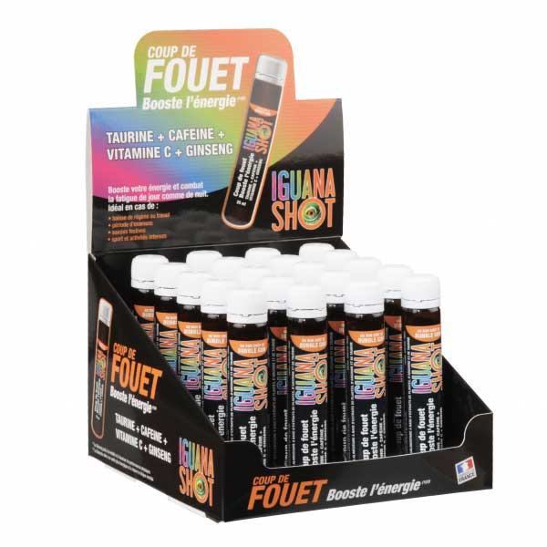 Stimulants sexuels - Iguana Shot- Display de 20 unidoses