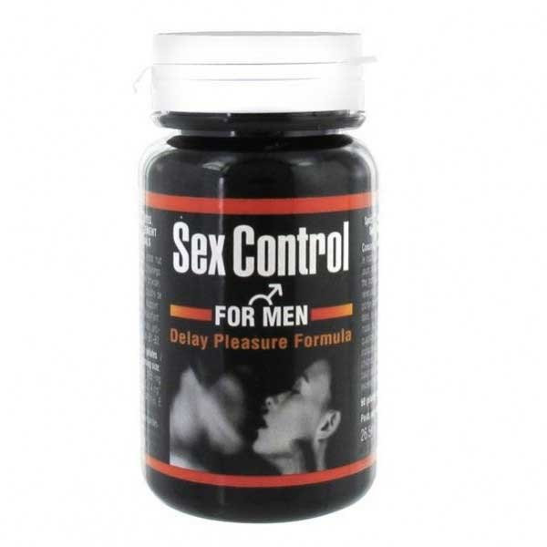 Pilules éjaculation précoce - Sex Control for men (60 gélules)
