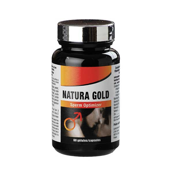 Volume de sperme - Natura Gold massive Sperm Optimizer (60 gélules)