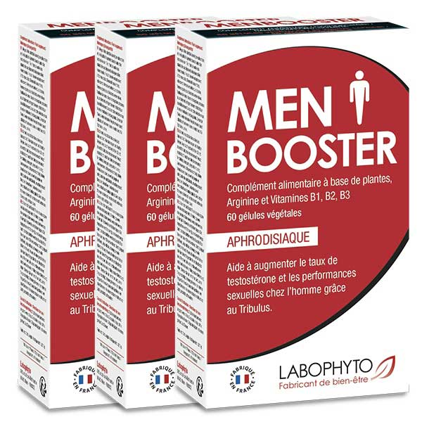Aphrodisiaques - MenBooster 'Programme 3 mois'